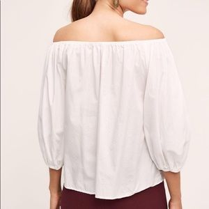 Anthropologie Clara Off-The-Shoulder Blouse small